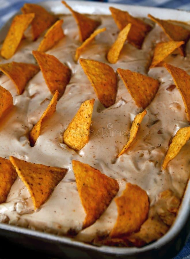 De pastei van de taco stock fotografie