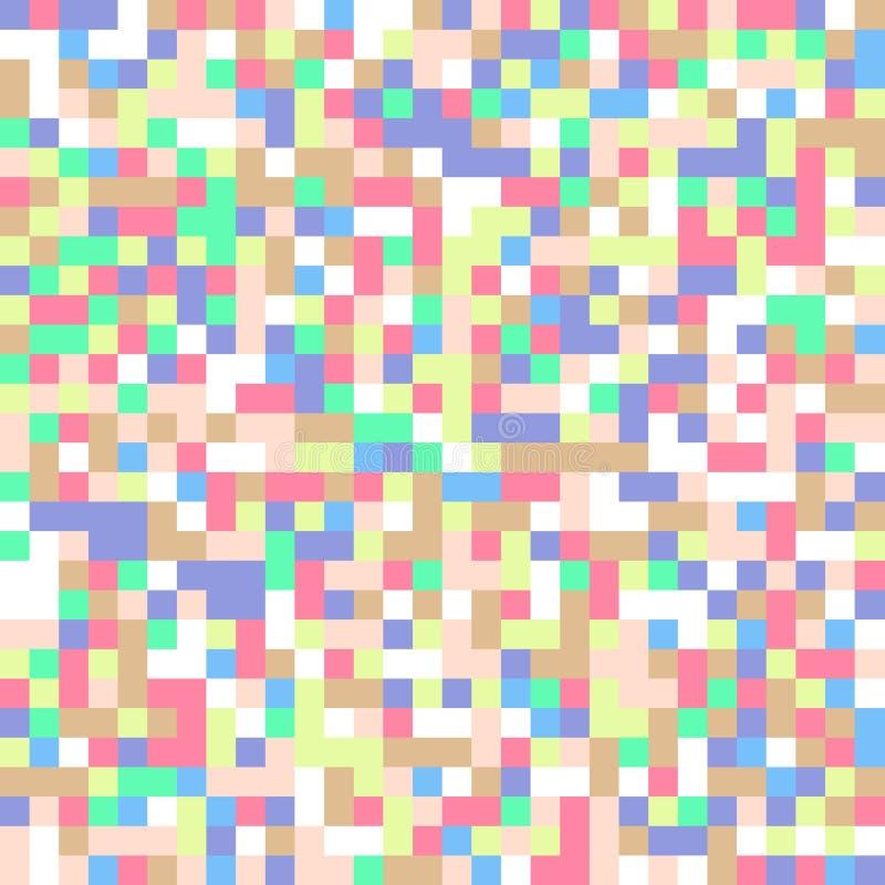 De pastelkleur regelt achtergrond royalty-vrije illustratie