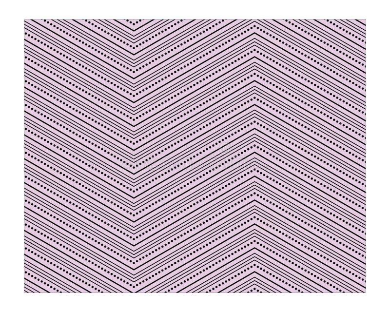 De pastelkleuren vectorillustraties van patroonstrepen vector illustratie
