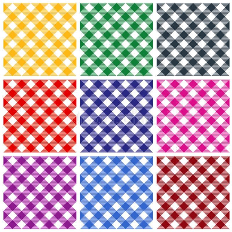 De patronen van de gingang vector illustratie