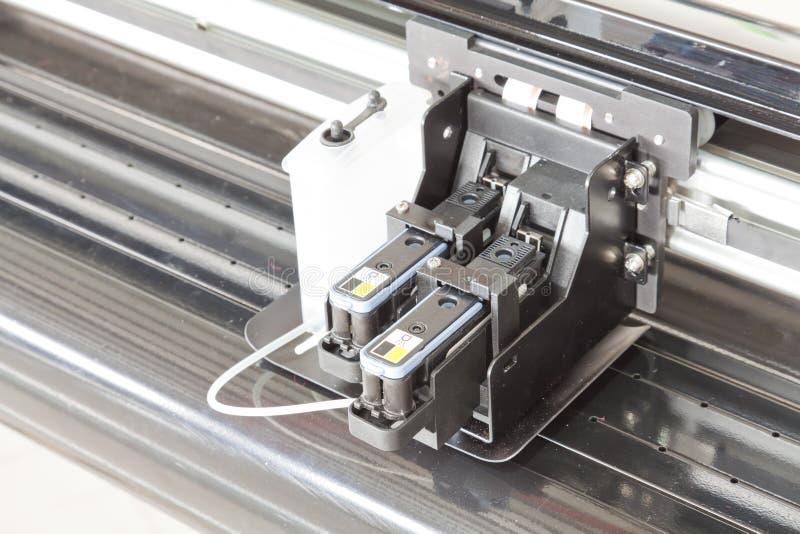 De patronen van de inkt van de printer stock afbeelding
