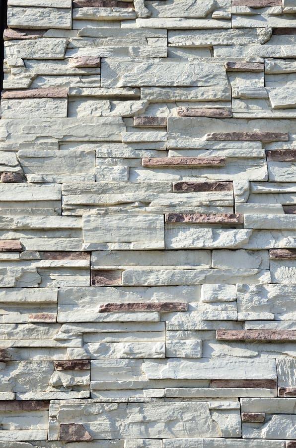 De patronen van de steenmuur stock afbeeldingen