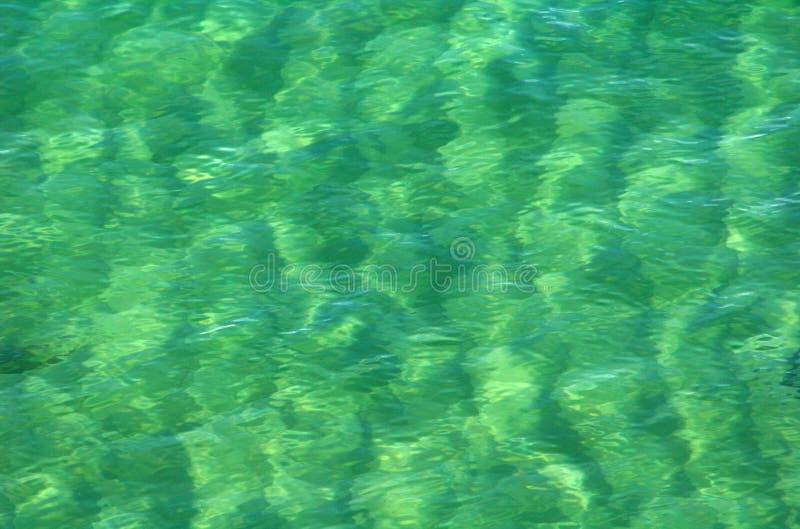 De Patronen van het water stock foto's