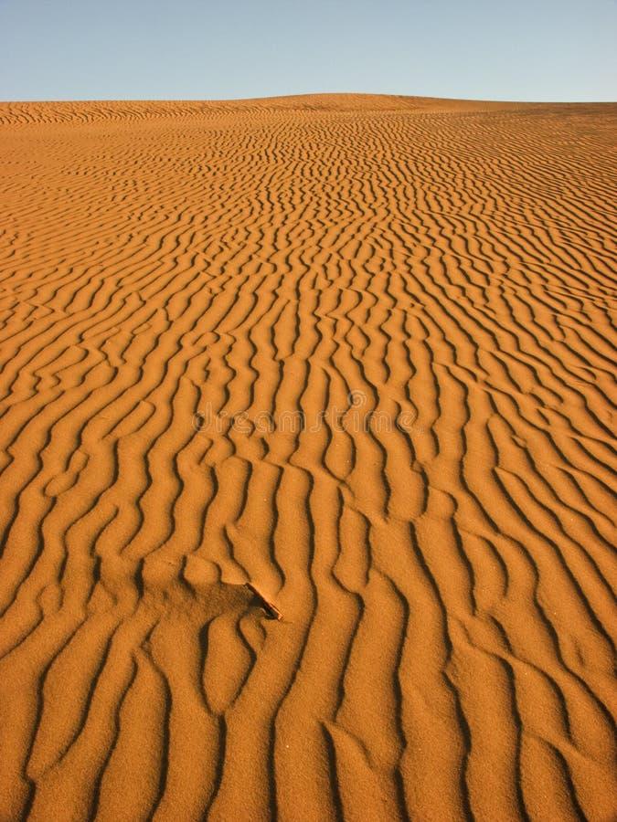 De patronen van het zand stock afbeeldingen