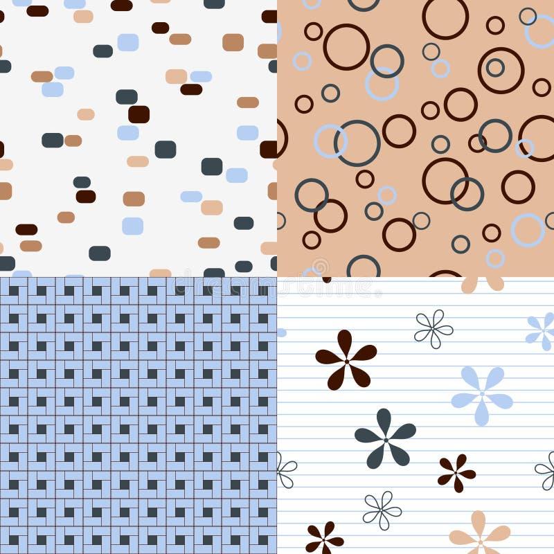 De patronen van Seamles stock illustratie