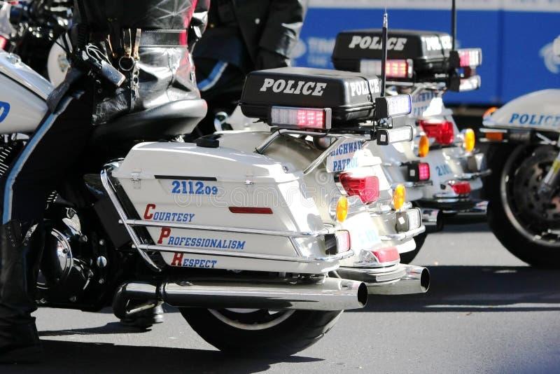 De patrouille van de politie royalty-vrije stock afbeelding