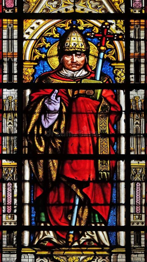 De Paus Gregory I van heilige royalty-vrije stock fotografie