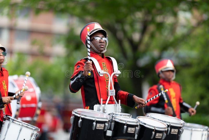 De Pegasus-Parade 2019 royalty-vrije stock fotografie