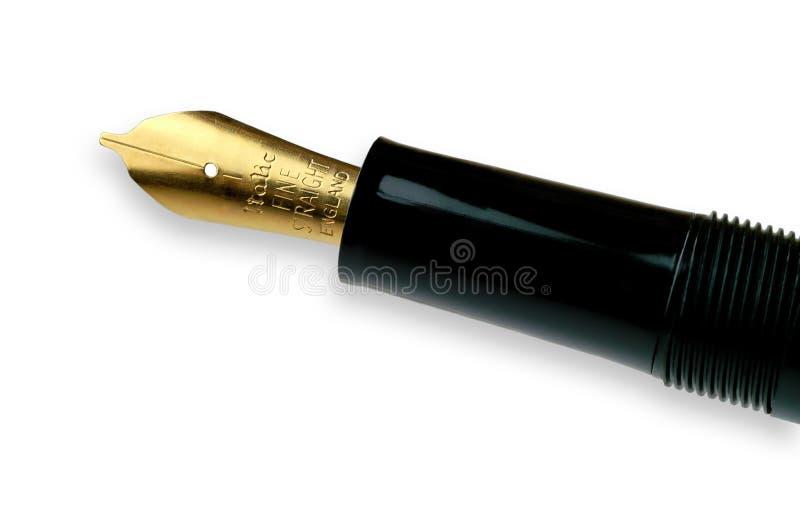 De pen van de kalligrafie stock foto