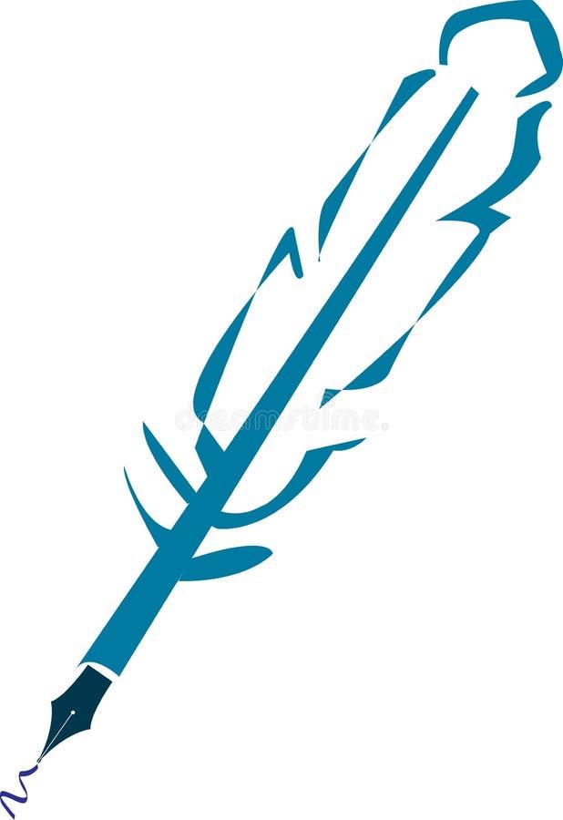 De pen van de vader vector illustratie