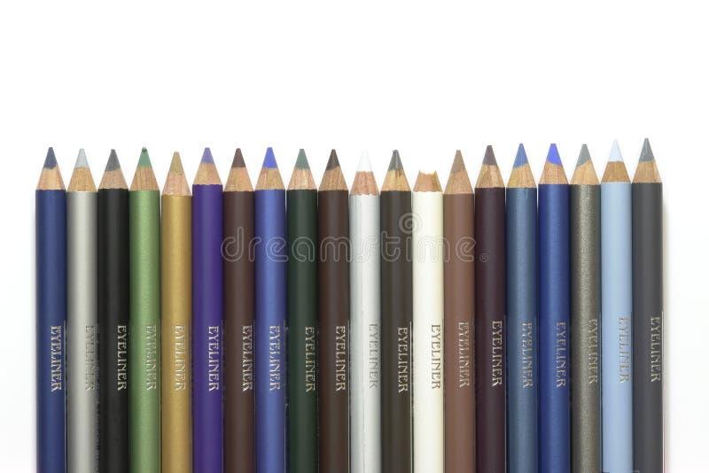 De Pennen van de eyeliner royalty-vrije stock afbeeldingen