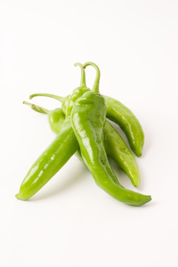 De peper van Spaanse pepers stock afbeeldingen