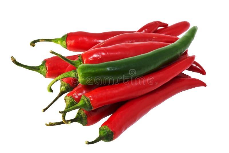 De peper van Spaanse pepers royalty-vrije stock foto's