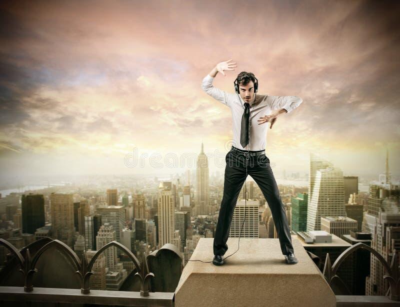 De perfecte danser stock afbeelding