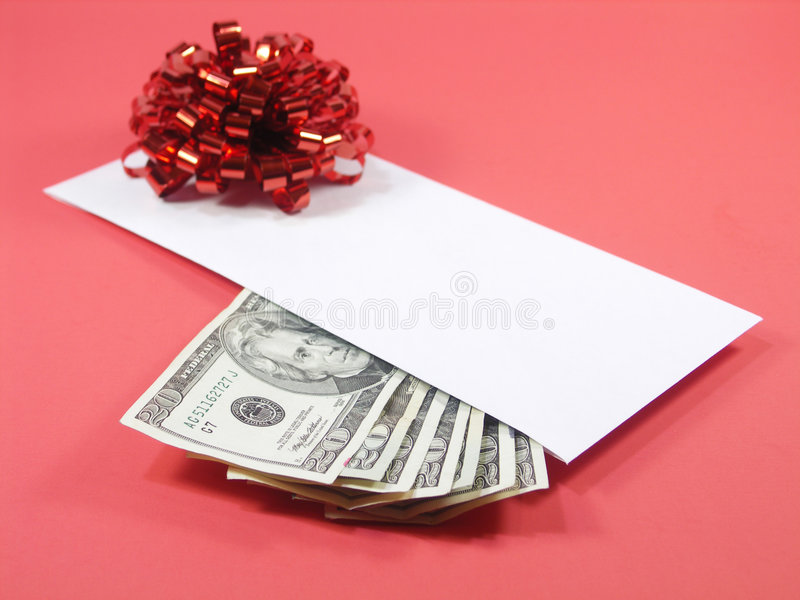De perfecte (rode) gift royalty-vrije stock foto's