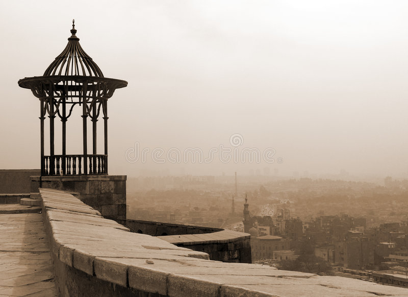 De Pergola van de citadel stock afbeelding