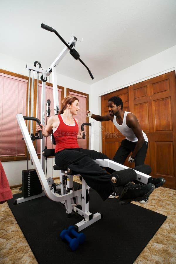 De persoonlijke Training van de Trainer stock afbeelding