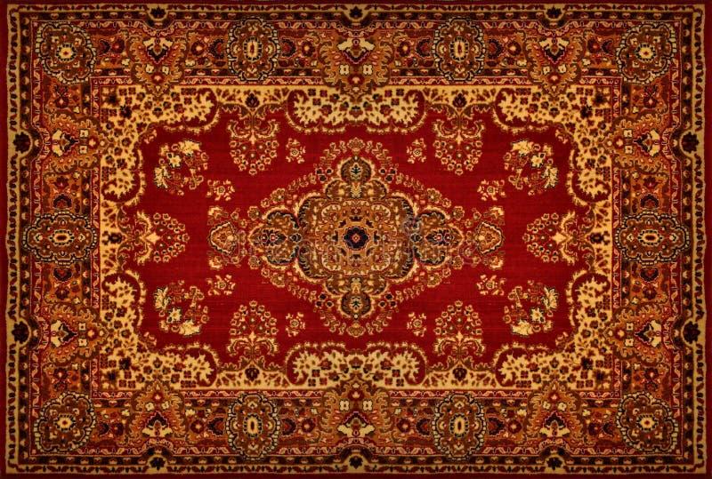 De Perzische Textuur van het Tapijt stock afbeelding