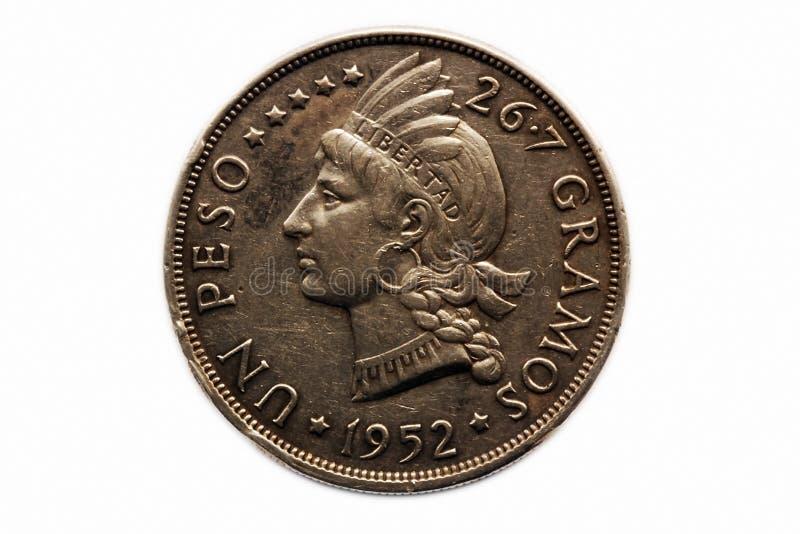 De pesomuntstuk van de V.N. royalty-vrije stock fotografie