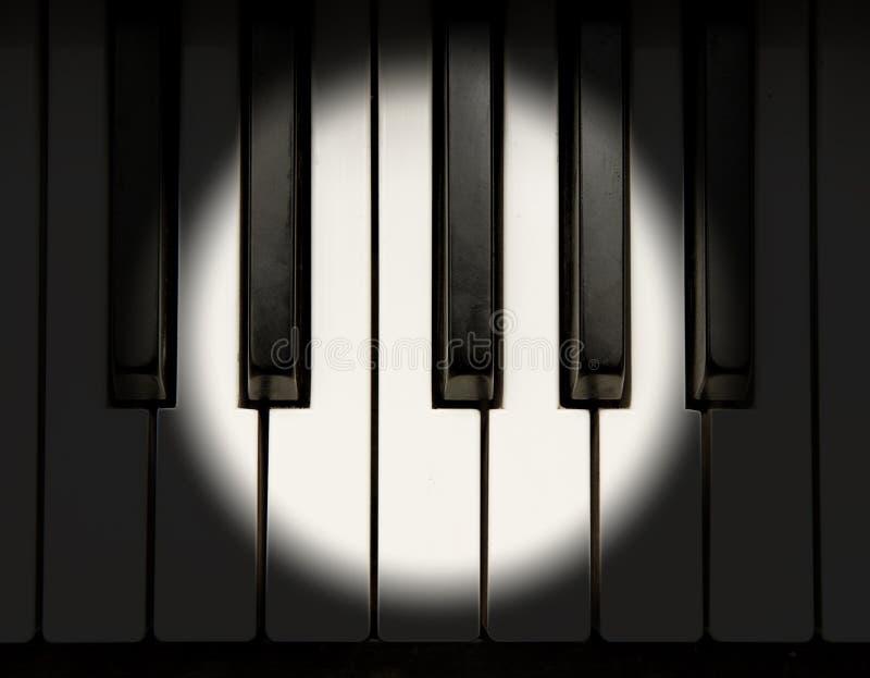 De Piano Van Het Overleg Royalty-vrije Stock Foto's