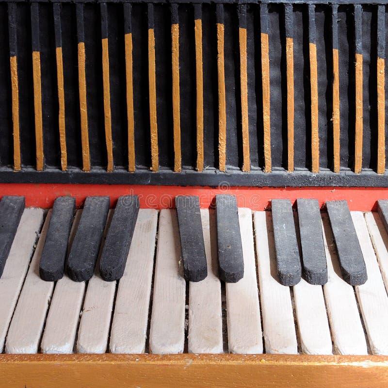 De Piano van het stuk speelgoed stock afbeelding