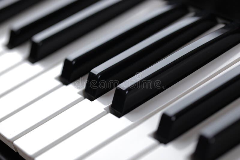 De Piano van het toetsenbord royalty-vrije stock afbeelding
