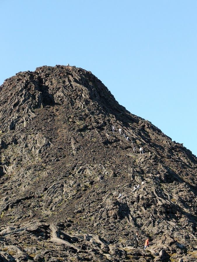 De Pico-vulkaan royalty-vrije stock foto's