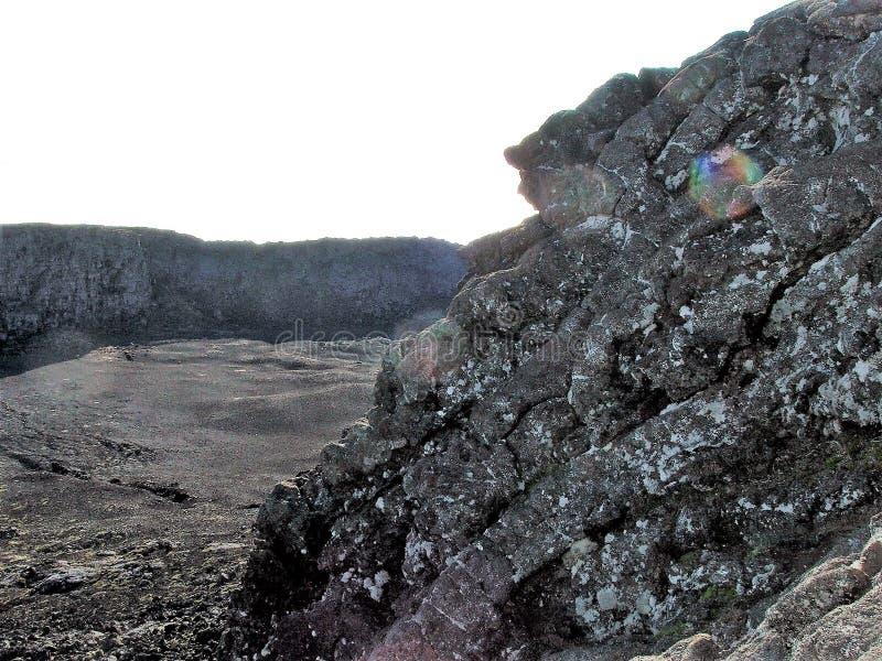 De Pico-vulkaan stock fotografie