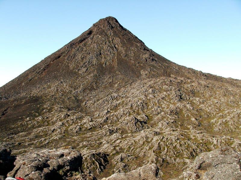 De Pico-vulkaan royalty-vrije stock afbeeldingen
