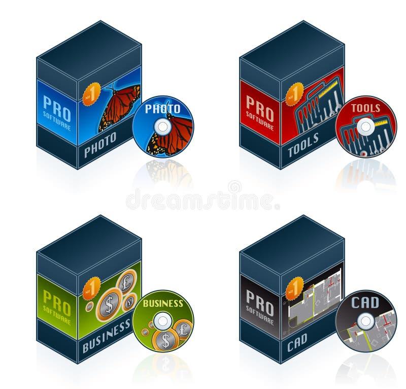 De Pictogrammen van de software plaatsen 57 euro