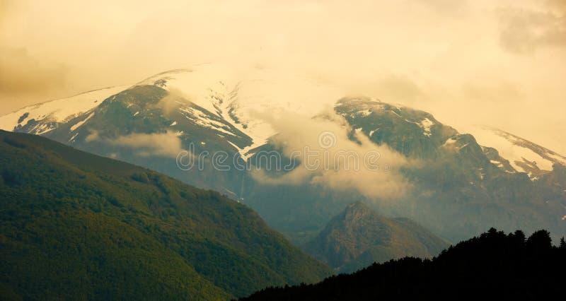 De piek van Botev, Bulgarije stock foto