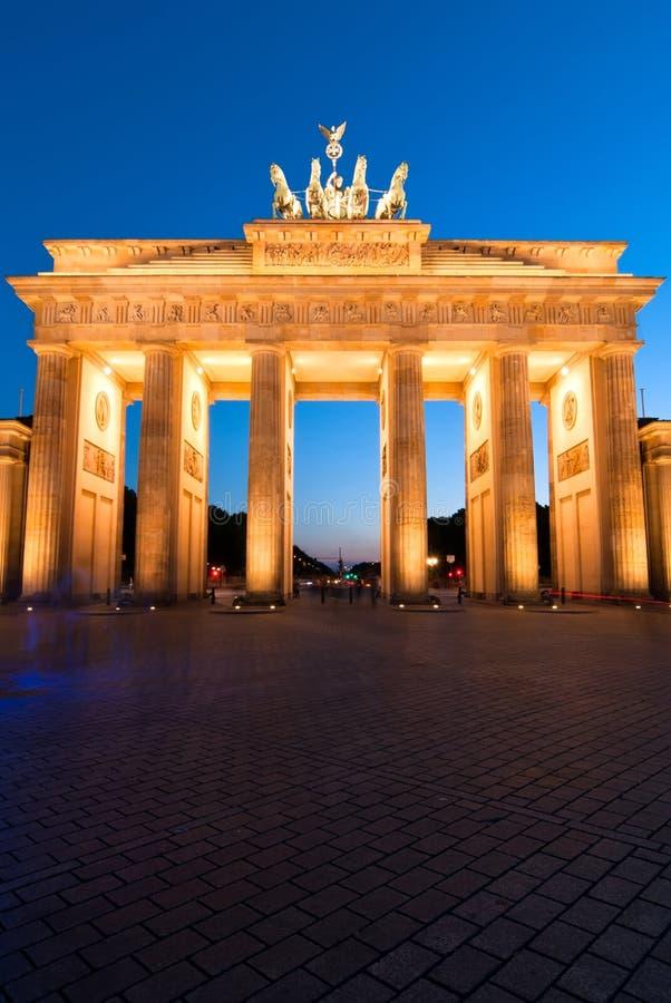 De Piek van Brandenburger op rand royalty-vrije stock foto's