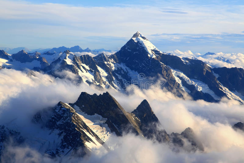 De Piek van Cook van de berg royalty-vrije stock foto's