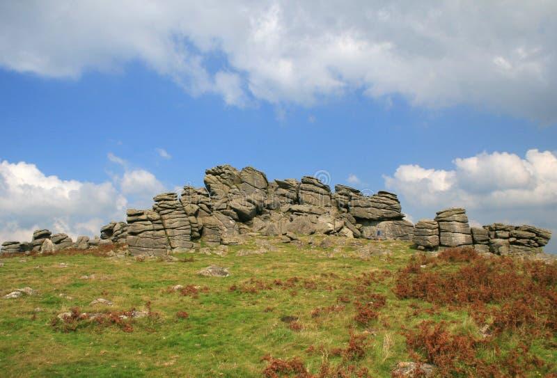 De Piek van de hond, Dartmoor royalty-vrije stock afbeelding