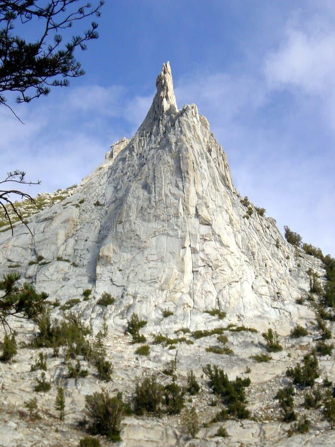 De Piek van de Kathedraal van Yosemite stock fotografie
