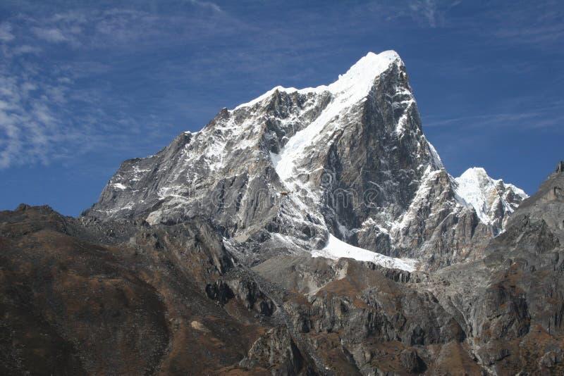 De Piek van Taboche - Nepal stock afbeelding