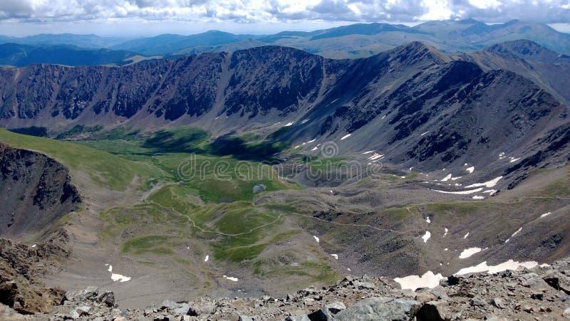 De Pieken van Colorado royalty-vrije stock foto's