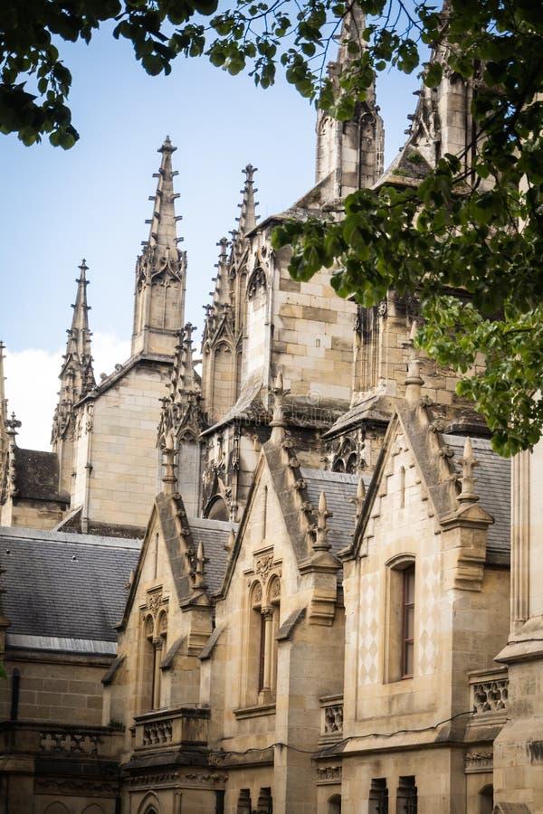 De pieken van St Andrew kathedraal stock fotografie