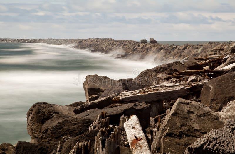 De pier van het Zuiden stock fotografie