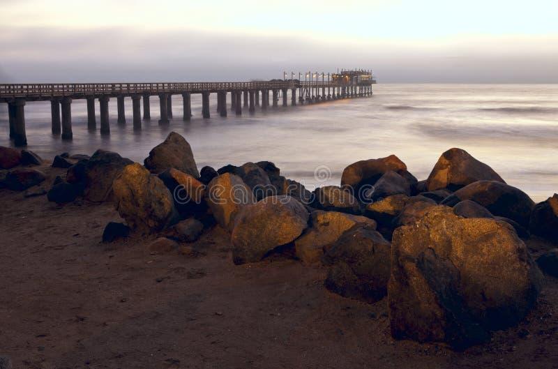De pier van Swakopmund royalty-vrije stock afbeeldingen