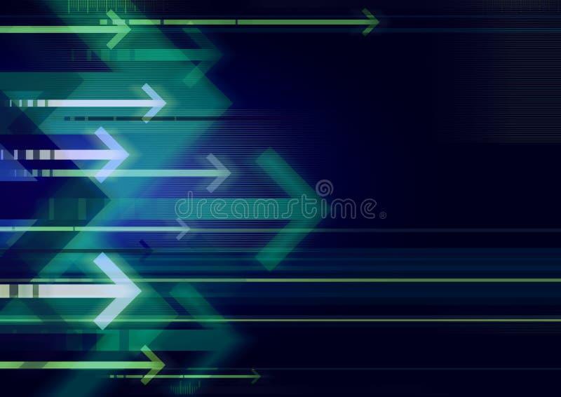 De pijlen van Bckgrnd stock afbeelding
