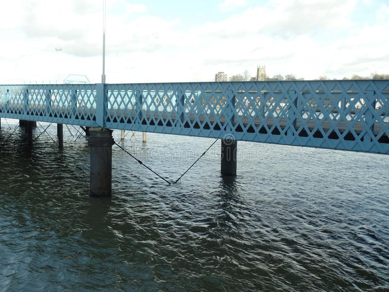 De pijler in Chatham, Kent royalty-vrije stock foto