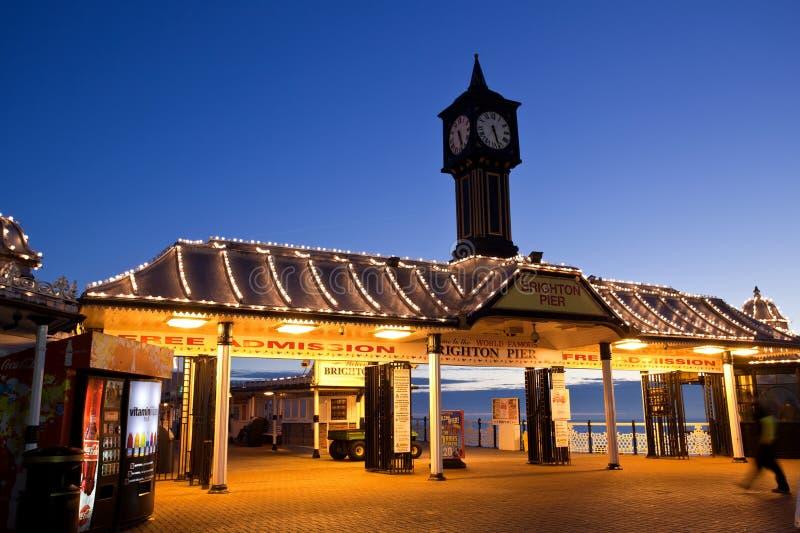De Pijler Engeland van Brighton royalty-vrije stock foto