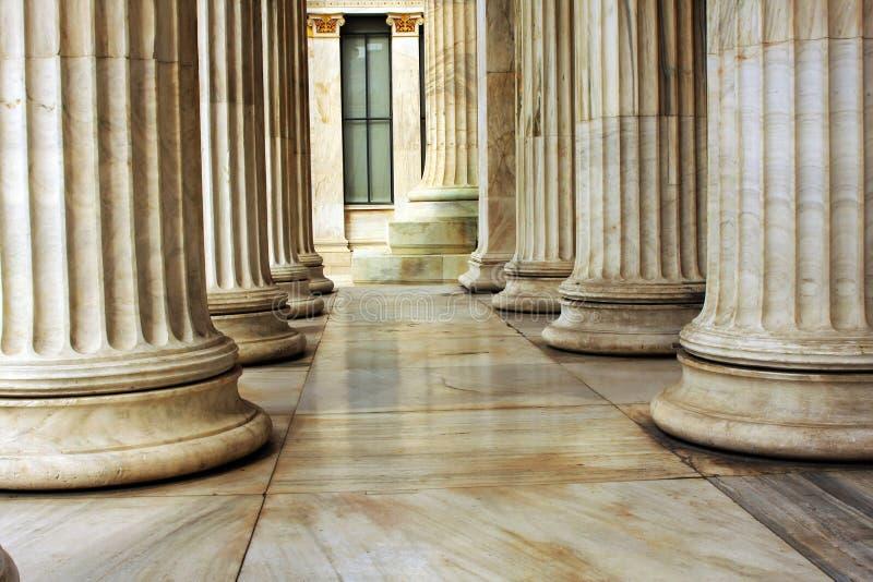 De pijler van de close-up royalty-vrije stock foto