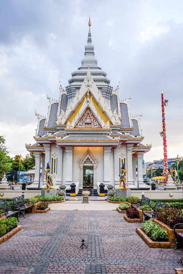 De pijler van de Khonkaenstad, Thailand stock fotografie