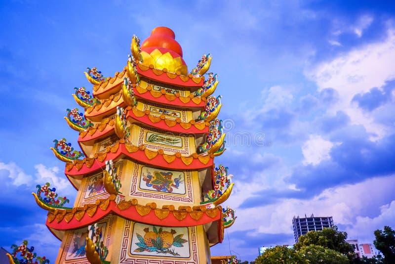 De pijler van de Khonkaenstad, Thailand royalty-vrije stock fotografie