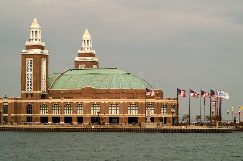 De Pijler van de marine, Chicago stock foto's