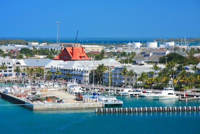 De pijler van Key West royalty-vrije stock foto's