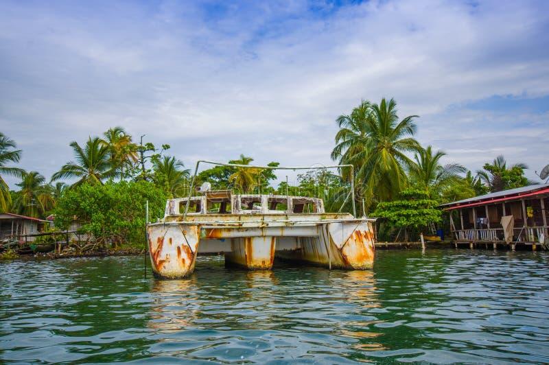De pijler van Panama royalty-vrije stock fotografie