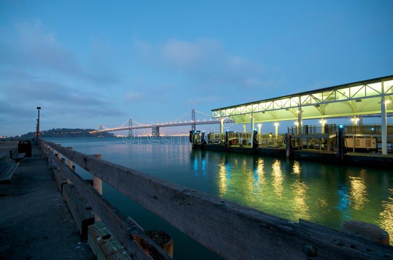 De Pijler van San Francisco Embarcadero royalty-vrije stock foto's